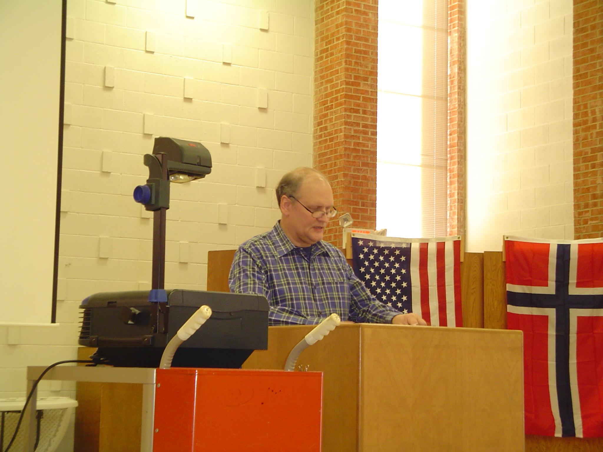 Viking history talk @ Troll Hjem chapter of Norwegian Society of Texas