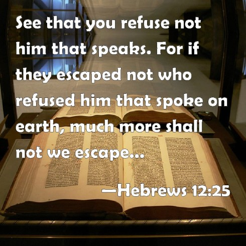 Hebrews12.25