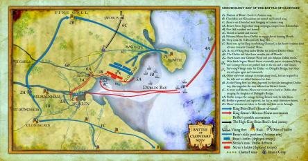 Clontarf-Battle-AD1014-map.HistoryIreland-image