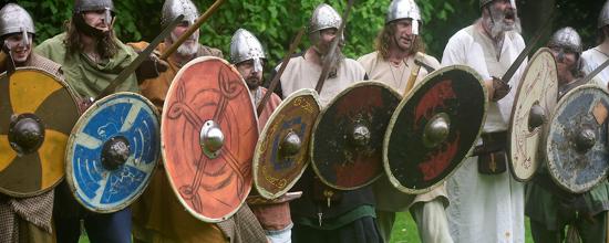 Viking-reenactors.Oban-Scotland