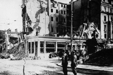 Belgrade-Yugoslavia.after-WWII-bombing
