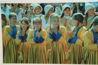 Tallinn.Estonian-choir-kids