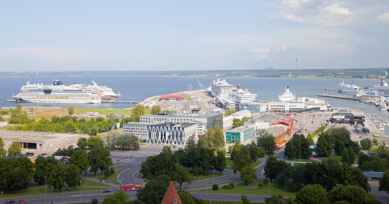 Tallinn-port-cruiseships.Estonia