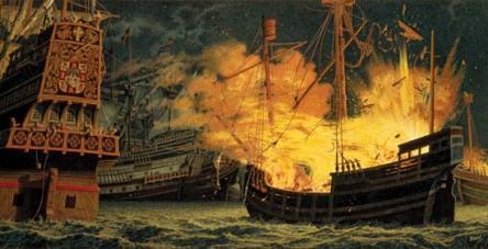 Armada-fireship