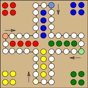 Mensch-argere-Dich-nicht.Parcheesi-like-boardgame