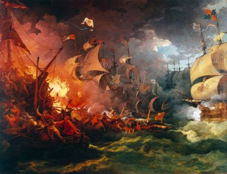 SpanishArmada.painting-deLoutherbourg