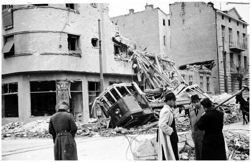 WWII-Yugoslavia-bombing-damage
