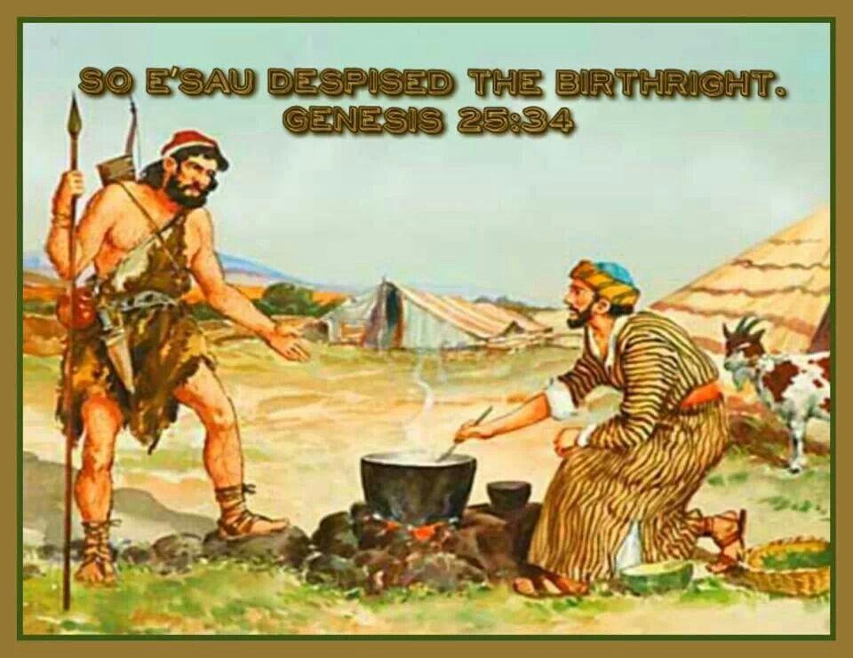 Genesis25.34-Esau-despised-birthright